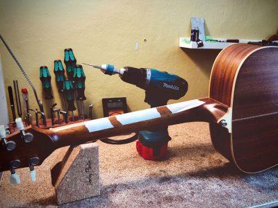 JTAR Werkstatt Gitarrenservice Bundmarkierungen